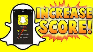 How to see someone elses snapchat score