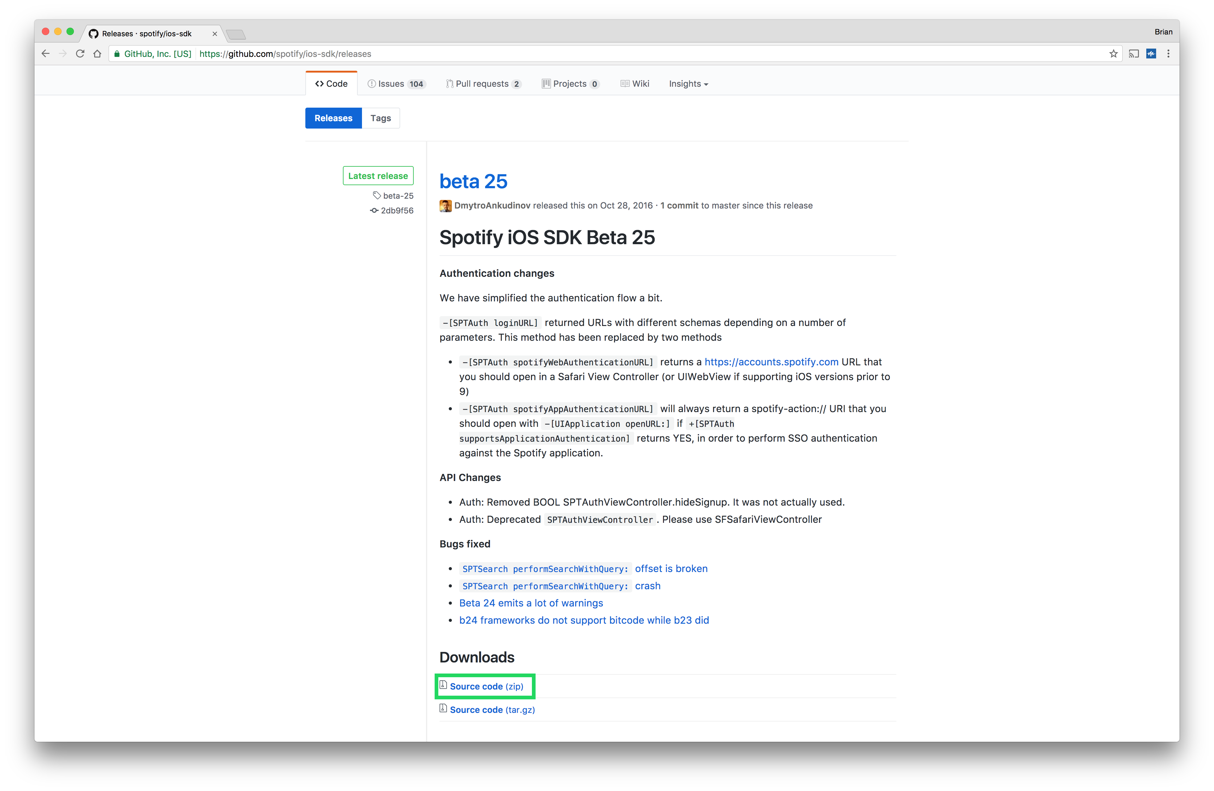 Getting Started with the Spotify iOS SDK - Brian Hans - Medium