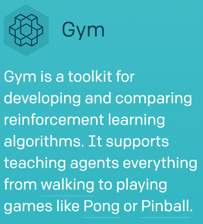 OpenAi Gym and Evolutionary Models - Geoff Counihan - Medium
