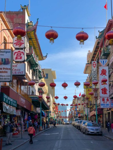 Streets and lanterns of Chinatown, Gems of San Francisco, USA -- gonewithawhim.com.jpg // Postcards from San Francisco
