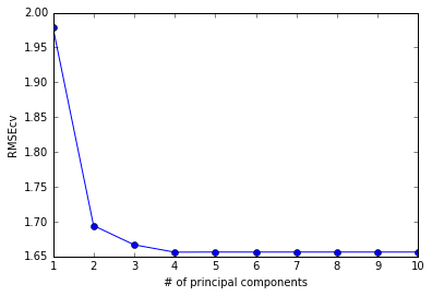 Semi-supervised regression based on PCA and PLS: MATLAB, R and