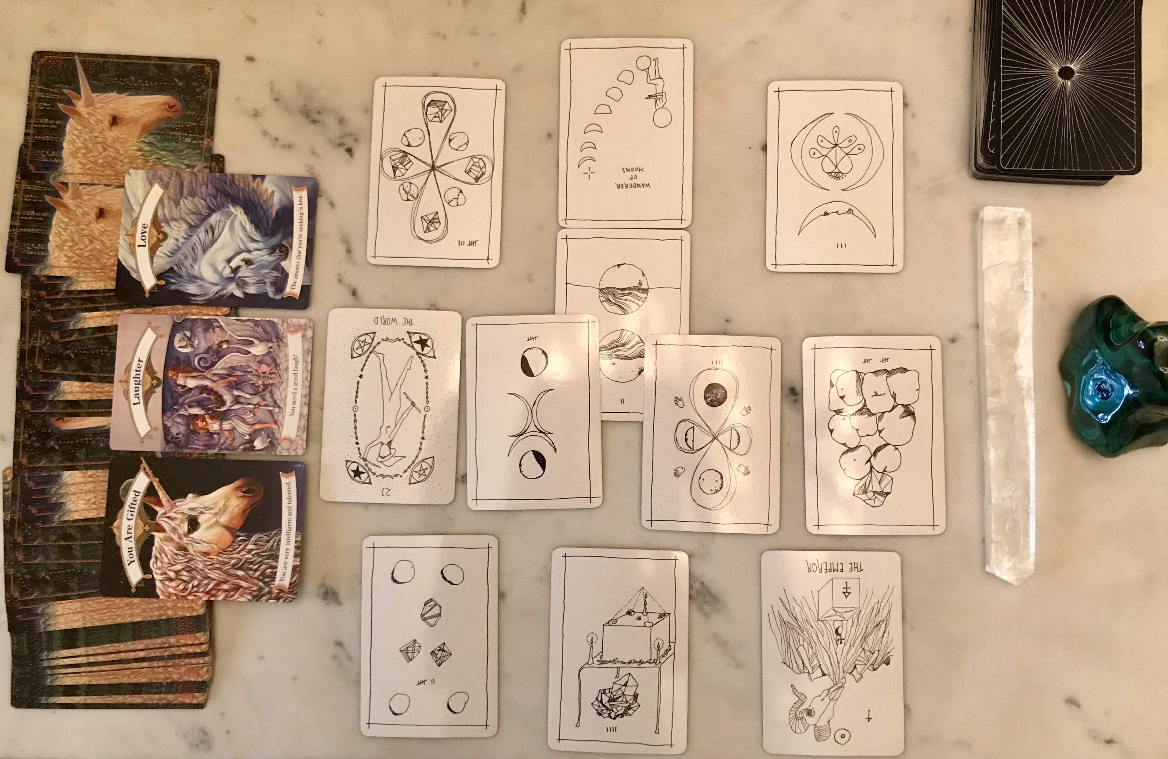 My Feminist Tarot Reading by SF's Wandering Witch - The Bold