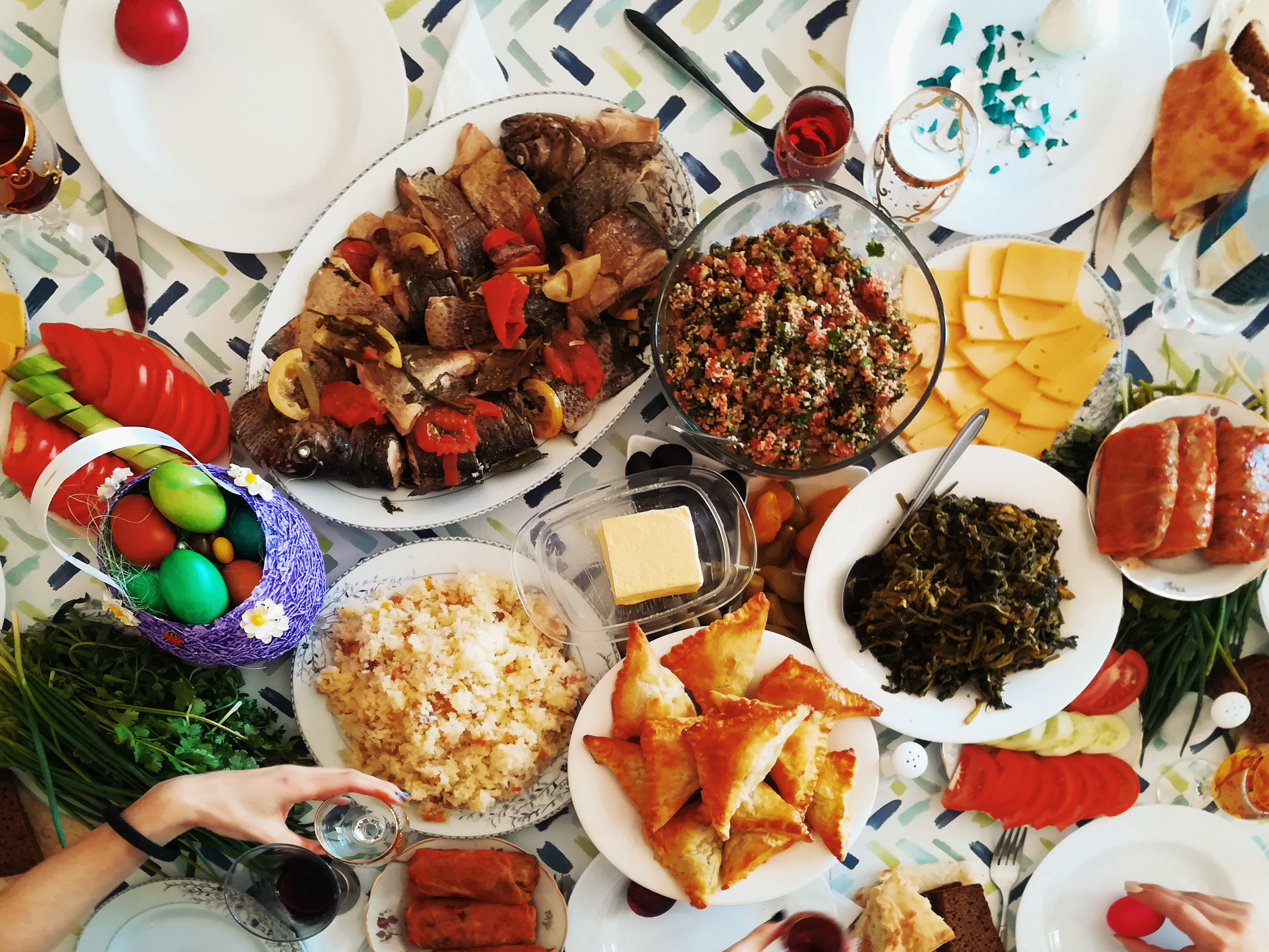 The sharing of food is significant to Armenian hospitality