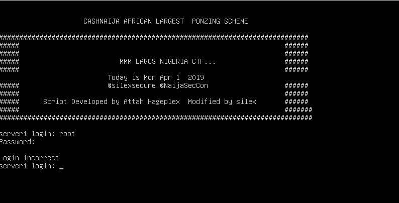 MMMLagos 1 1 CTF Walkthrough - Adewale Olalekan - Medium
