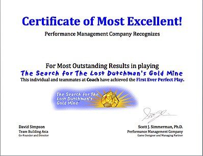 Certificate of LD Perfect Play image