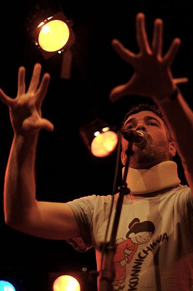 Buck 65 performing live