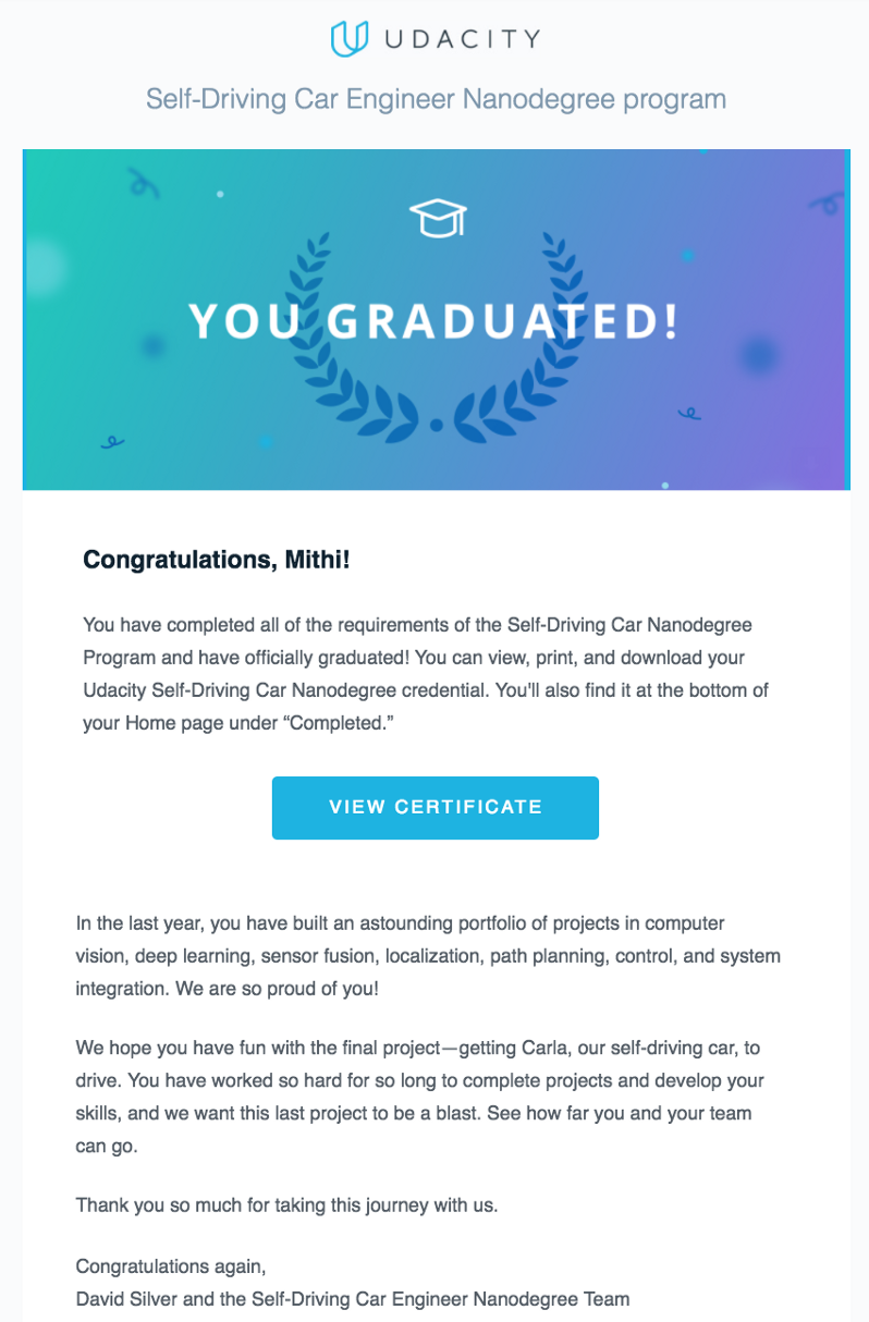 An Honest Review of Udacity's Self-Driving Car Nanodegree — third