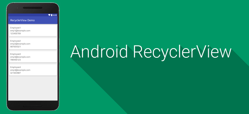 Android RecyclerView and CardView Tutorial - Navjacinth
