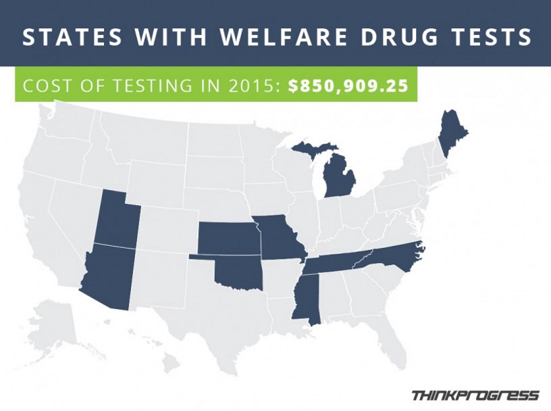 drug testing welfare applicants Courts agree: blanket drug testing with no individualized reason for suspicion is unconstitutional but politicians and other leaders continue to try to implement.