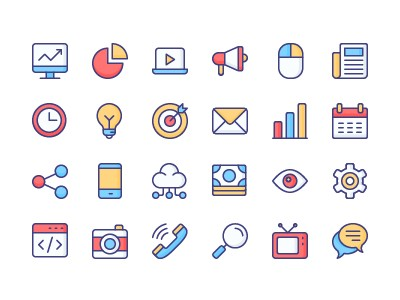 Marketing and Promotion iconset by NamLy