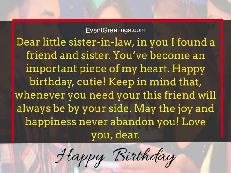 Awesome Birthday Wishes And Quotes For Sister In Law To Express Funny Birthday Cards Online Inifofree Goldxyz