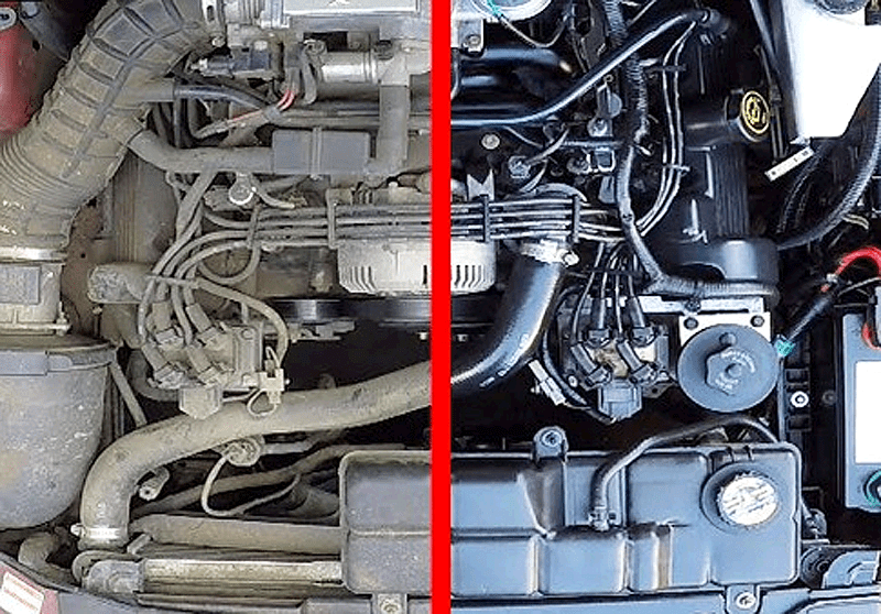 How To Clean Engine Bay >> 6 Ways To Clean And Detail The Engine Bay In Your Car