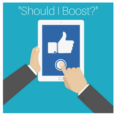 Should I Use The Facebook Boost Post Button to Promote My Restaurant (or  Local Business)?   by Joe Soto   Medium