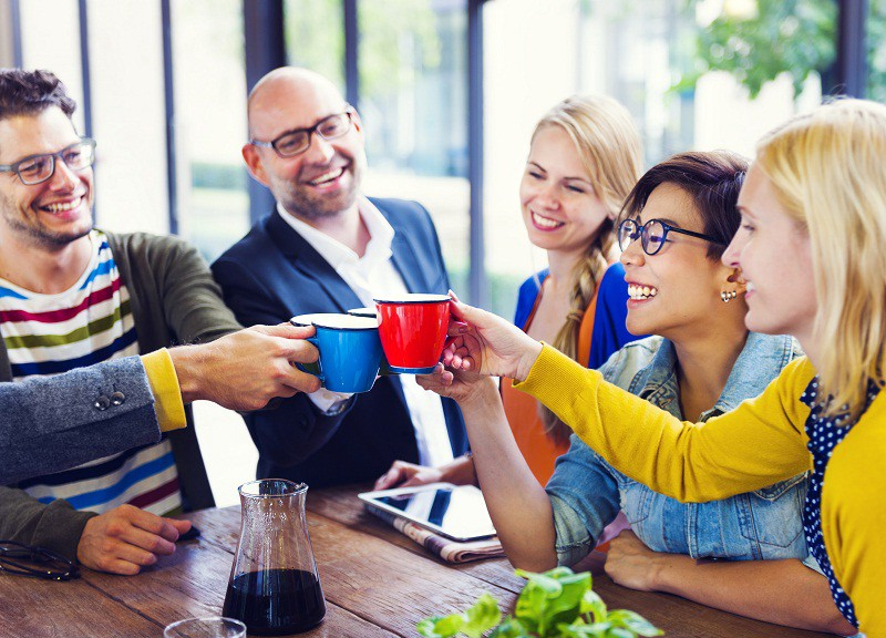 Why Having Friends At Your Workplace Boosts Your Happiness | by Alore | The  Productivity Revolution | Medium