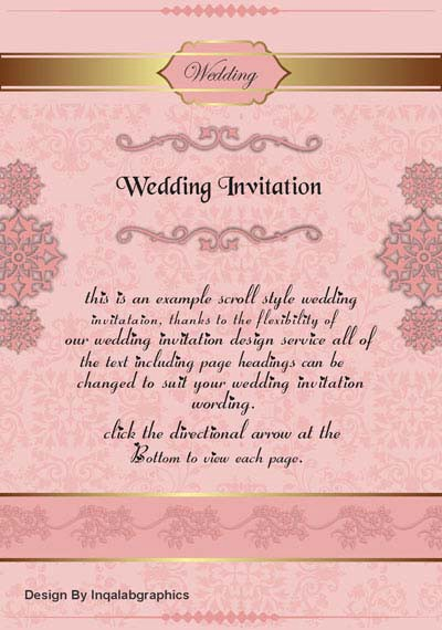 CorelDraw Wedding Card Designs Free Vector Templates Cdr File