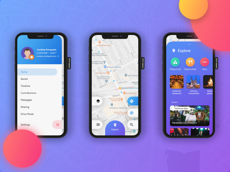 Use Flutter to implement the UI challenge of Google Maps