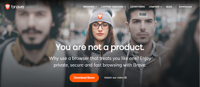 Brave Browser product