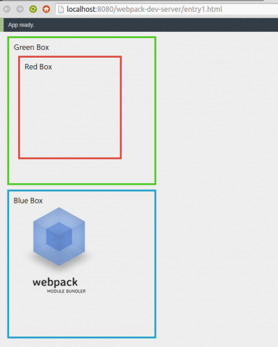 webpack image of entry point 1