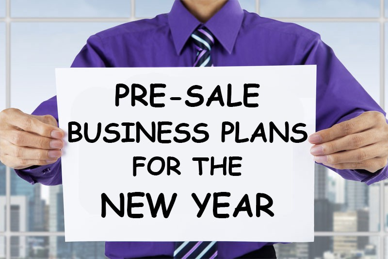 Pre-sale business planning for the new year