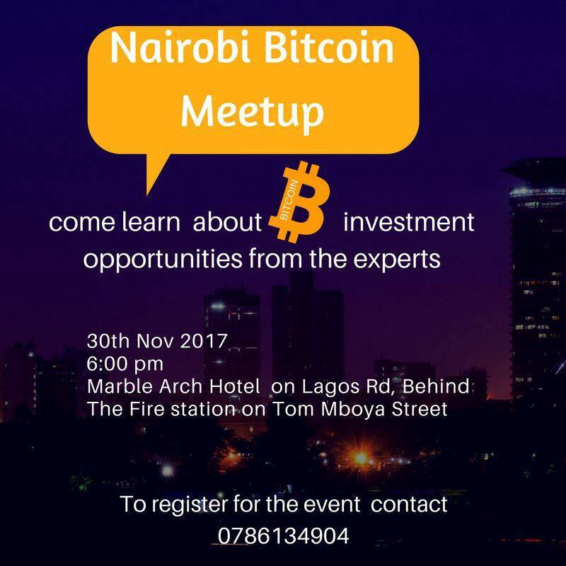 bitcoins to invest in kenya