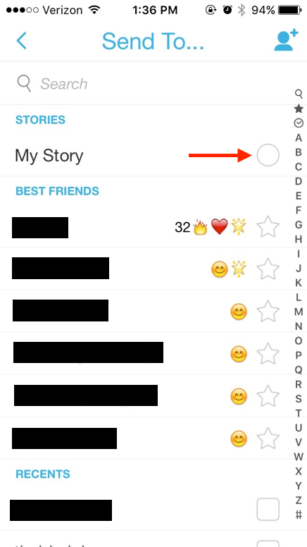 how to add to your snapchat story