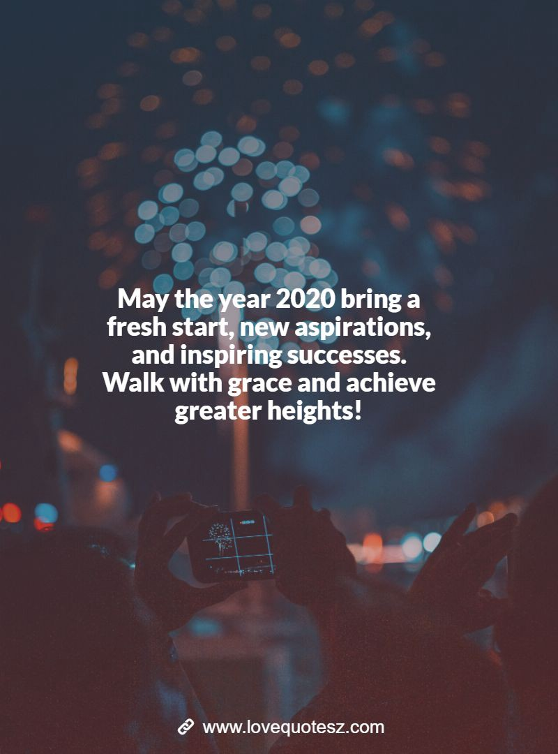 A Year Of Happiness happy new year messages, and wishes images for 2020