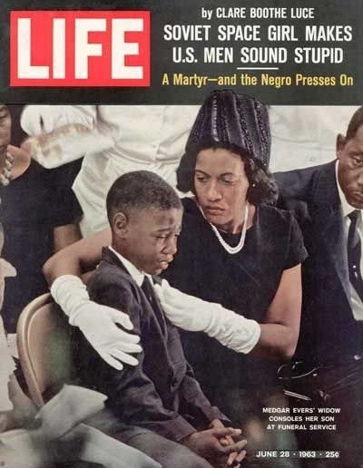 """Myrlie Evers: More than """"the widow of…"""" - Aundra Willis Carrasco"""