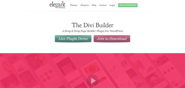 Four outstanding wordpress plugin to create cool landing pages - Divi builder 2 0 7 ...