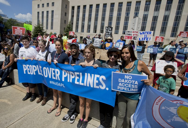 New Supporters Get Involved in Dakota Access Pipeline Battle, Including the UN