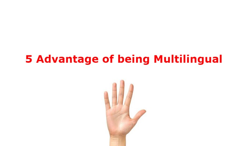 advantages of being multilingual Outstanding benefits of being bilingual and achieving success the ability to converse in two languages is known as bilingualism people who are adept at speaking two languages enjoy certain advantages over their monolingual counterparts.