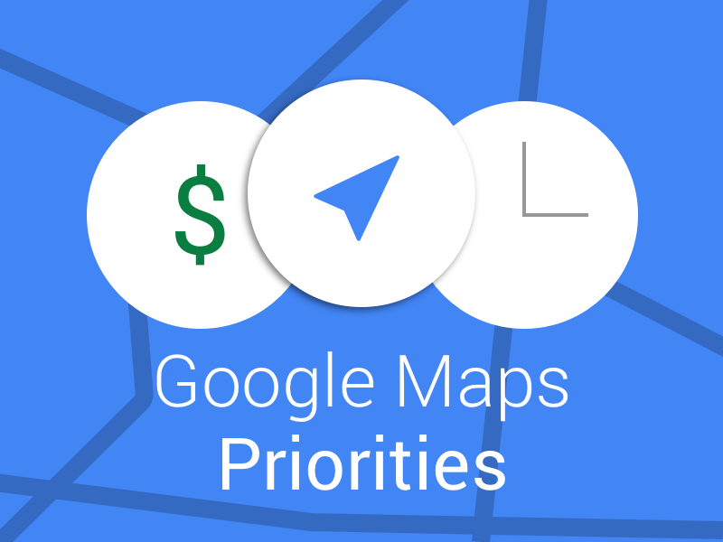 Feature Request: Google Maps Priorities - Greg Garnhart - Medium on mapquest driving directions, maps get directions, maps and directions,