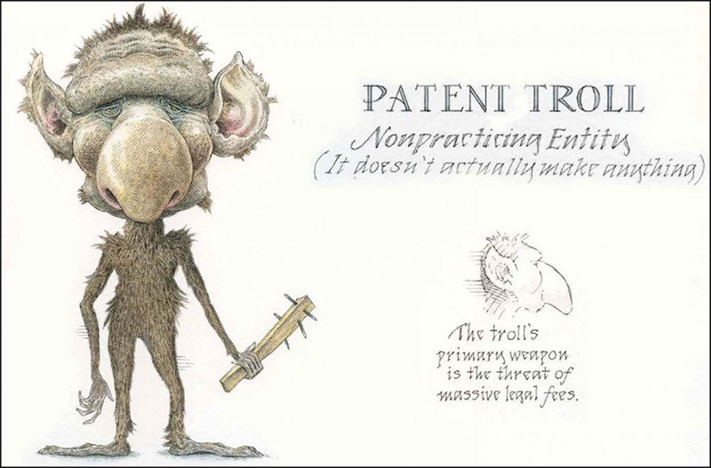 Invasion Of Patent Trolls Into The Biotech Sector By Shen Lin Medium