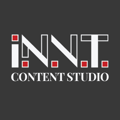 A picture showing a logo for I.N.V.T Content marketing studio
