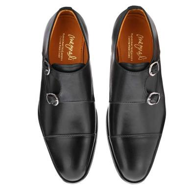 How to identify a pure leather shoe