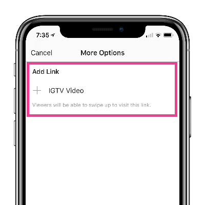 240: Instagram Stories: How To Create Swipe Up Links to IGTV