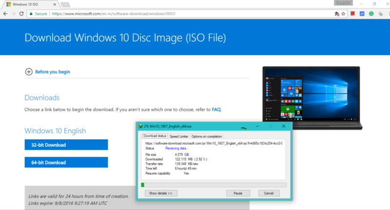 windows 10 iso official