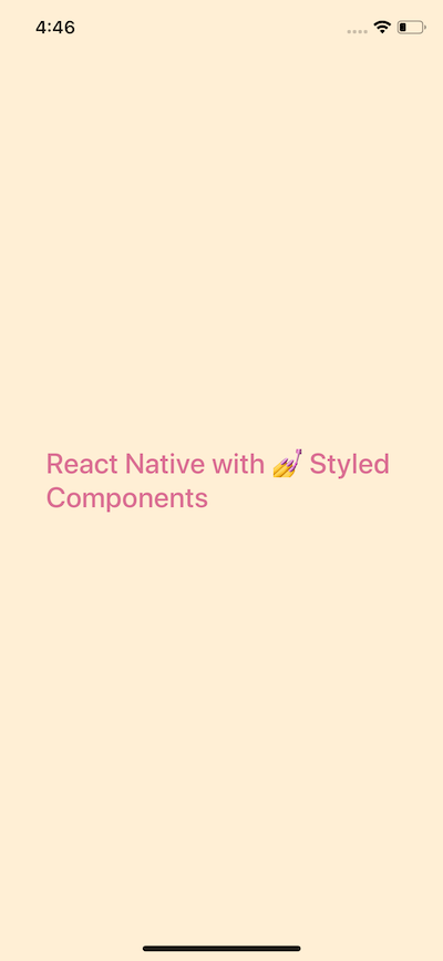 Using Styled Components with React Native - Level Up Coding
