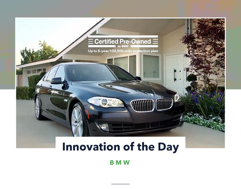 Innovation Of The Day Bmw Bmw Creates Recycled Ads By Jareth Ashbrook Trendwatching Pulse Medium