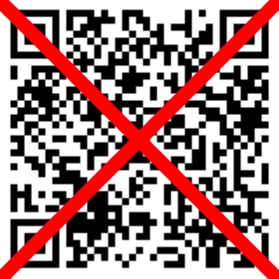 Why you shouldn't scan two-factor authentication QR codes!