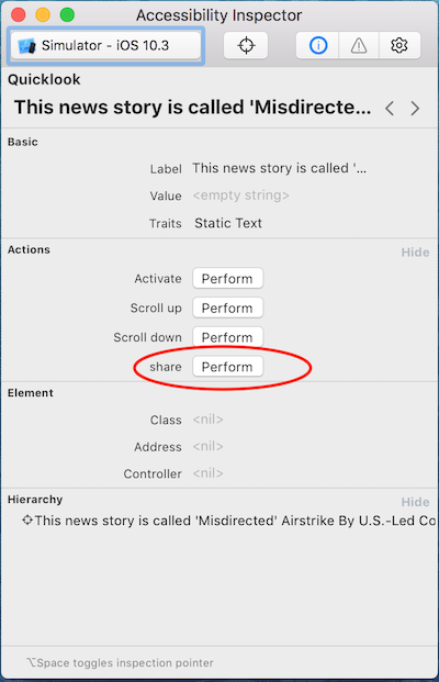 Custom Accessibility Actions for iOS - Technology at NPR