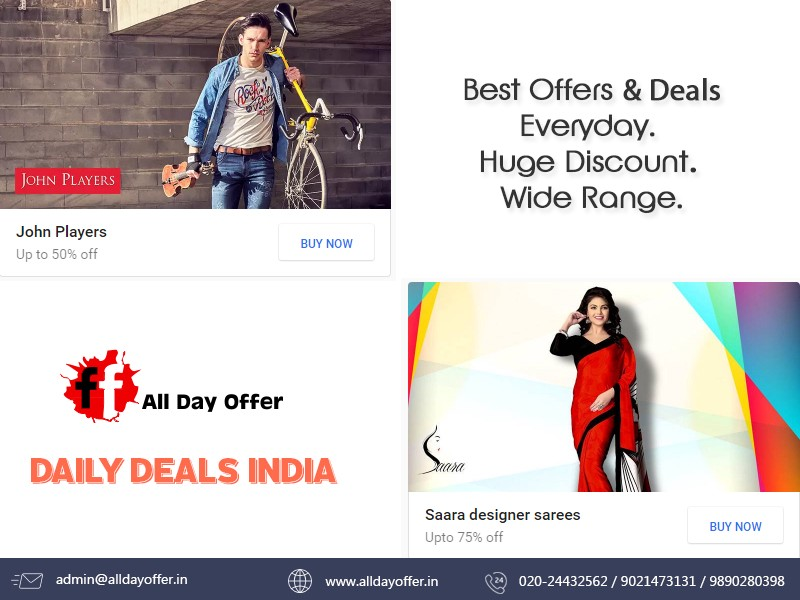 Online Store Best Deals And Discounts India By Alldayoffer In Medium