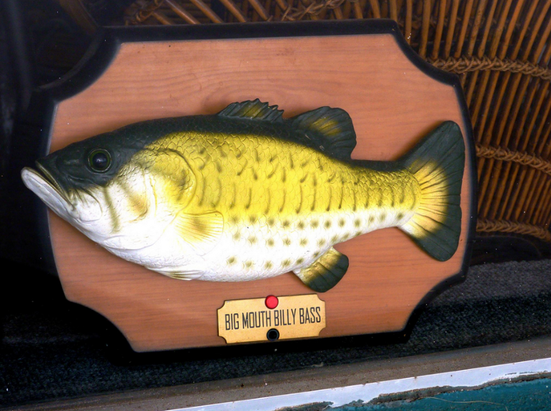 I want a big mouth billy bass for Big mouth billy bass singing fish