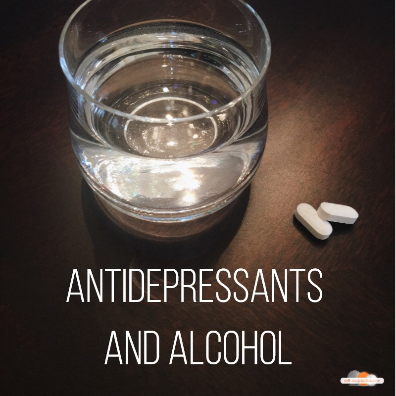 can i take antidepressants and drink alcohol