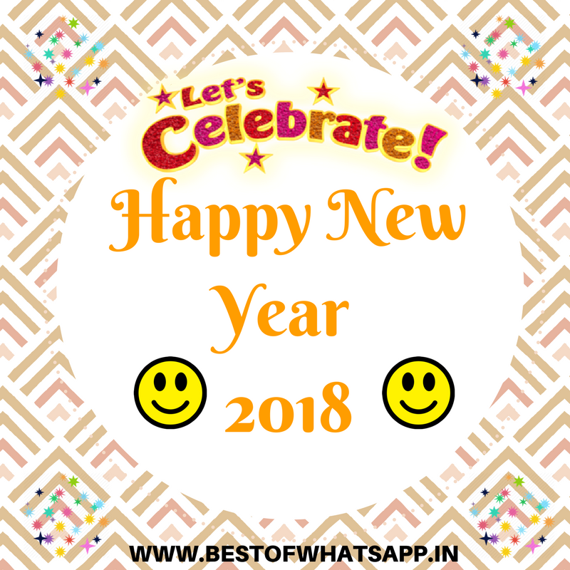 Best Happy New Year 2018 Images For Whatsapp Status