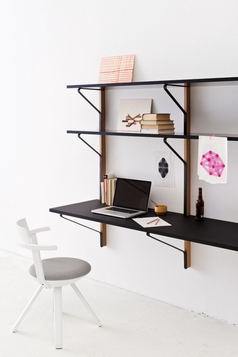 kaari a simple and unique furniture collection by ronan erwan bouroullec medium. Black Bedroom Furniture Sets. Home Design Ideas