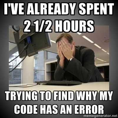 No error! But still, something is wrong! XD