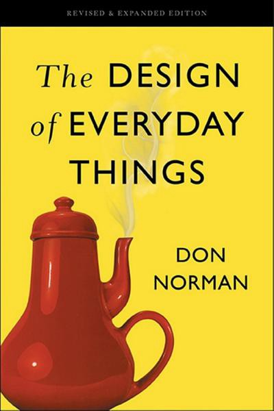 Book cover of Design of Everyday Things by Don Norman