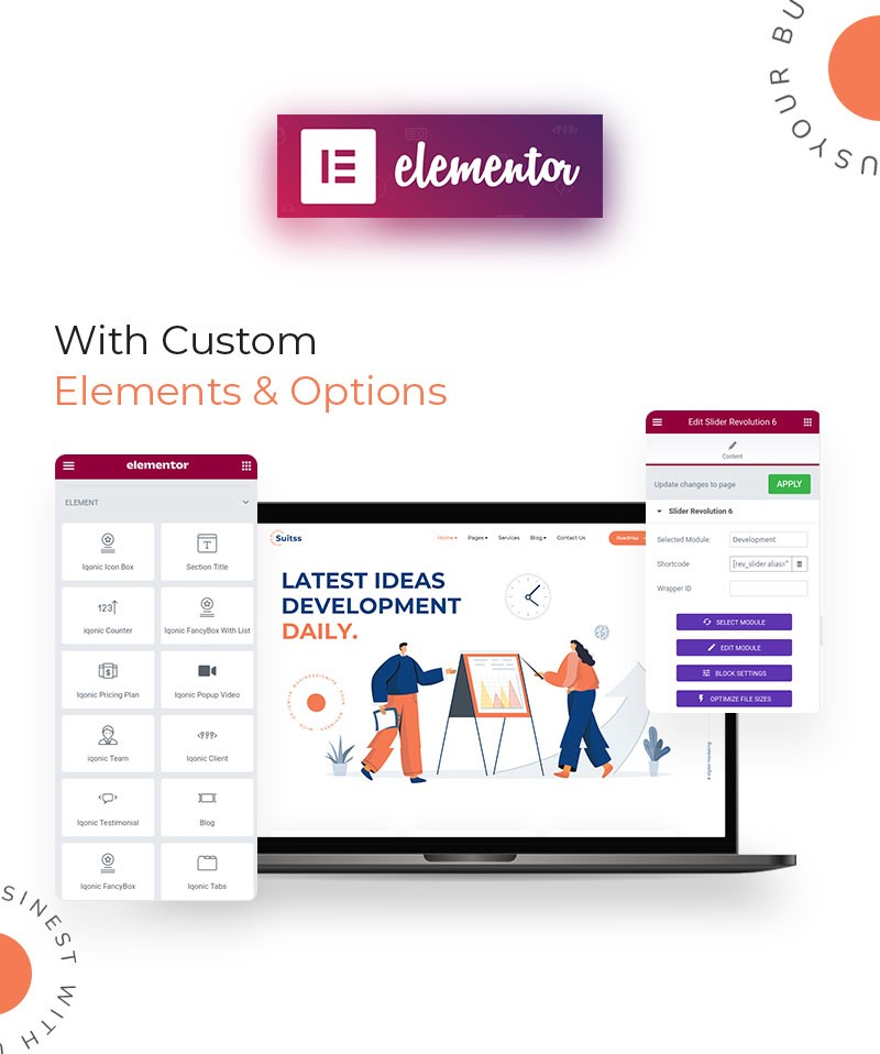 Suitss | Startup Business WordPress theme  Elementor Page Builder: Lots Of Aces Up Its Sleeve! 1 NNPJQJDbuPgPM3OQyP9wOA