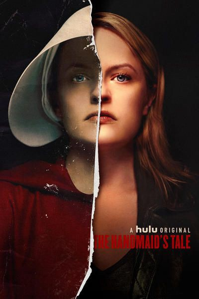 Promotional art for 'The Handmaid's Tale' TV series.