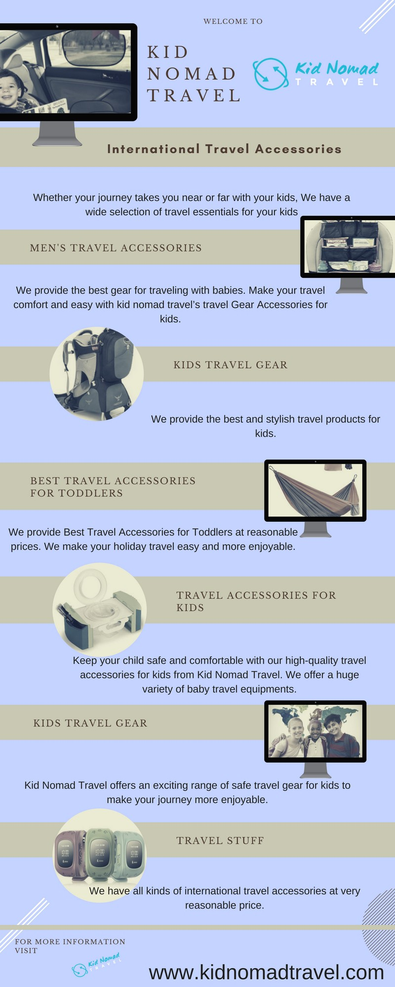 Travel Gear For Kids We Provide The Best Gear For Traveling By Garry Heiner Medium